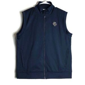 Lacoste Sport Golf Men's Full Zip Vest Patch